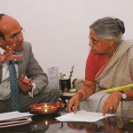 jk jain, jayant kumar jain, jk jain with sheila dixit, lmj international, lmj group