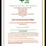 Apeda Export Award
